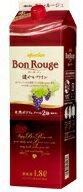 ボン・ルージュ(赤) 健やかワイン ボックス 1800ml(1.8L) 紙パック【日本ワイン】【02P03Dec16】