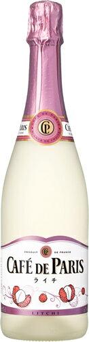 カフェ・ド・パリ ライチ 750ml 【スパークリングワイン】【02P03Dec16】