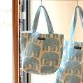 エレファンティランチトートバッグFinlayson(フィンレイソン)バッグランチバッグ北欧トートランチバッグアニマル北欧雑貨