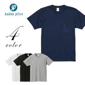 f2c2b11dba73 メンズ・レディース ヘヴィーウェイト半袖Tシャツ(ポケット付) 7.1oz 【KUKKA