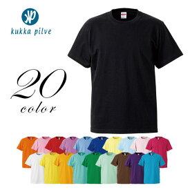 メンズ・レディース ハイクオリティー 半袖Tシャツ 5.6oz 【KUKKA PILVI】 シンプル 無地 ファッション おしゃれ