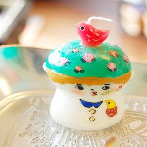 ピチオキャンドル 男の子 絵付けキャンドル 【pichio candle】(手作り/ライト/かわいい/キャラクター/置物/ろうそく/オブジェ)日本製 ハンドメイド 北欧/雑貨/贈り物/ギフト/おしゃれ/かわいい/