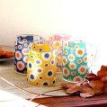 デイジー耐熱ガラスマグカップ350mlSTUDIOHILLA(スタジオヒッラ)キッチンマグカップ北欧紅茶花柄マグカップ北欧雑貨
