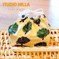 スタジオヒッラランチ巾着【STUDIOHILLA】北欧雑貨プレゼントギフト2018年新春