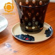 スタジオヒッラサークルコースター北欧おしゃれ&かわいいコースター【STUDIOHILLA】コップマグカップ敷き丸型グッズ