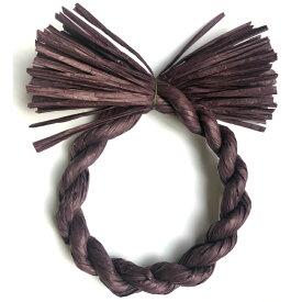 しめ縄 材料 リース カラー 小紫 18cm 丸 手作り アレンジ 正月飾り しめ飾り 玄関飾り