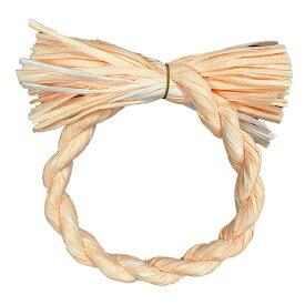 しめ縄 リース 材料 カラー 白MIX 18cm 丸 手作り アレンジ 正月飾り しめ飾り 玄関飾り