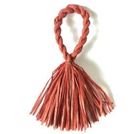 しめ縄 リース 材料 カラー 赤 37cm L型 手作り アレンジ 正月飾り しめ飾り 玄関飾り