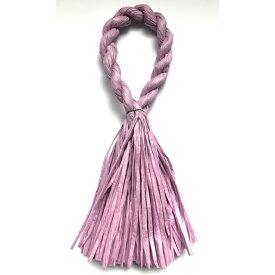 しめ縄 リース 材料 カラー 紫 37cm L型 手作り アレンジ 正月飾り しめ飾り 玄関飾り