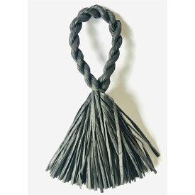 しめ縄 リース 材料 カラー 黒 37cm L型 手作り アレンジ 正月飾り しめ飾り 玄関飾り