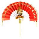 正月飾り 材料 10個入り 扇 末広 No.1 15×13cm パーツ 素材 ハンドメイド アレンジ 手作り しめ飾り しめ縄