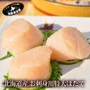 ほたて 貝柱 北海道産 天然物 『特大 ホタテ 生貝柱 500g』(北海道 野付産帆立:2サイズから選択可能)hotate 玉冷 刺…