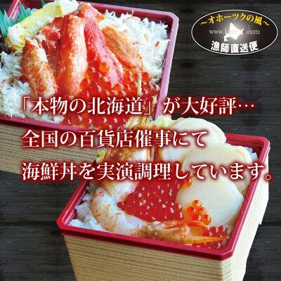 送料無料北海道海の幸福袋『オホーツク漁師の海鮮福袋:Cセット』
