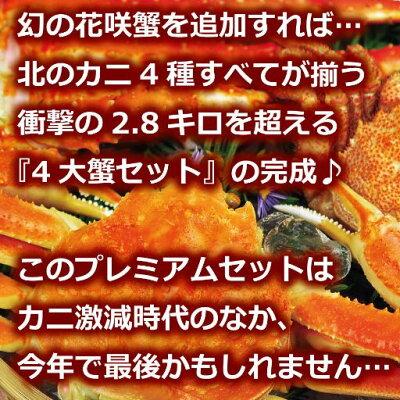 送料無料『3大蟹セット:北海道当店指定加工』毛蟹ずわい蟹南タラバ蟹かに毛蟹けがにケガニタラバ脚タラバ足のしギフト贈答用三大ガニ