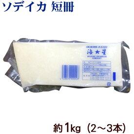 ソデイカ 短冊 約1kg(2〜3本)(冷凍便) /沖縄近海産 セーイカ アカイカ タルイカ 刺身