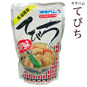オキハム てびち汁(みそ味)400g │テビチ汁 豚足│