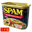 【沖縄ホーメル】スパムSPAM うす塩(ランチョンミート)340g │沖縄食材 缶詰│