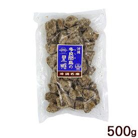 多良間島の黒糖(カチワリ) 500g /沖縄産 純黒糖