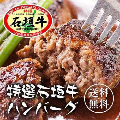 石垣牛ハンバーグ8個 ギフトセット【送料無料】|石垣牛|冷凍|牛肉|ハンバーグ[食べ物>お肉>ハンバーグ]【ss0903】