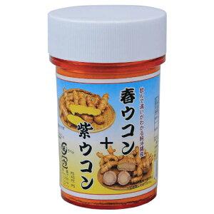 比嘉製茶 春ウコン+紫ウコン粉 100gクルクミン・シネオール・カンファー|流す|[健康食品>サプリメント>ウコン]