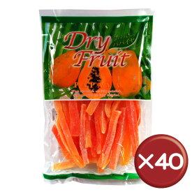 【送料無料】ドライフルーツパパイヤ(大) 5枚入 40袋セット|お菓子|取り寄せ|健康食品[食べ物>お菓子>ドライフルーツ]