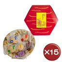 【送料無料】小亀6色詰合せ(24) 15箱セット 通販 ランキング 美味しい[食べ物>お菓子>ちんすこう]