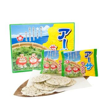 冲绳阿瑟煎饼|煎饼|糨糊煎饼|煎饼|蓝|阿瑟|蓝糨糊|冲绳[食物>点心>煎饼]