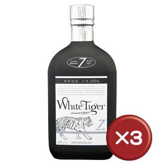 白虎7年43次3瓶一套|琉球燒酒|酒|沖繩[飲料>酒>琉球燒酒]