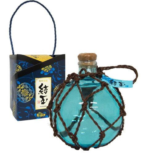 泡盛 結玉(青) 浮き玉ボトル 500ml 25度 泡盛 お酒 贈答用 お土産[飲み物>お酒>泡盛]