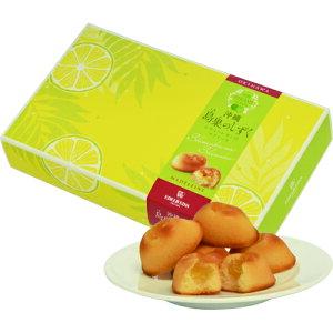 島果のしずく ヒラミーレモンのマドレーヌ12個入り|バレンタイン|ケーキ|エーデルワイス[食べ物>スイーツ・ジャム>ケーキ]