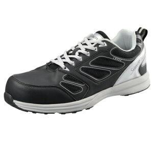 シモンSimon LS411 安全靴 短靴 JSAA規格 B種 認定品 軽くて抜群のクッション性とフィット感を実現 耐摩耗性・耐油性・衝撃吸収性に優れたソール 軽量なワイド樹脂先芯採用 夜間も安心反射材付