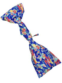 沖縄 三線 紅型柄 布袋 青 ケース 袋 三線袋 紅型