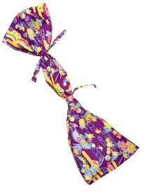 沖縄 三線 紅型柄 布袋 紫 ケース 袋 三線袋 紅型