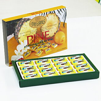 Pineapple chocolate 16 with Nago pineapple Park