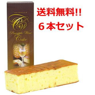 !基於集的松紙漿 ★ 鳳梨蛋糕 05P13Dec14 的鳳梨酒蛋糕 500 克 (共 11) × 6