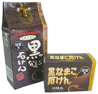 Black sea cucumber soap (hair use) 5P13oct13_b