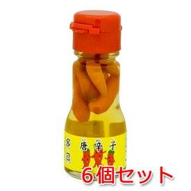 液唐辛子 35g×6本(コーレーグース)唐辛子泡盛漬け