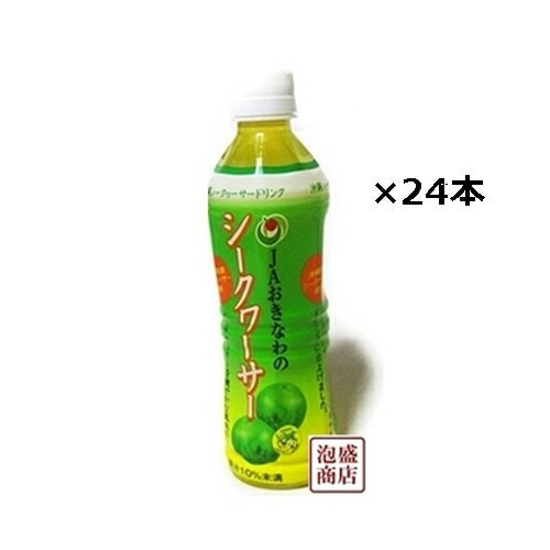 シークワーサージュース 500ml×24本(1ケース) JAおきなわ 沖縄のシークヮーサージュース