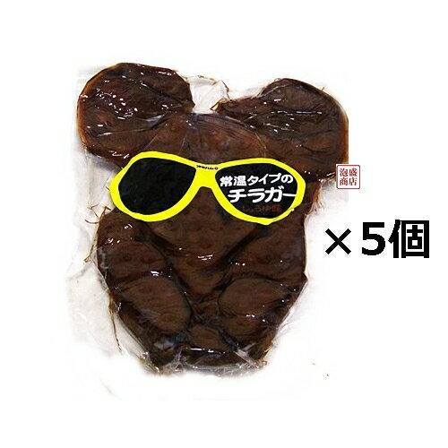 【チラガー】 味付けしょうゆ味 常温タイプ×5個セット / オキハム 沖縄ハム ミミガー好きにオススメ