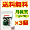 【月桃茶】【比嘉製茶】(3g×20g)×3個 セット / 送料無料 送料込み ポリフェノール 沖縄方言サンニン茶といいます。…