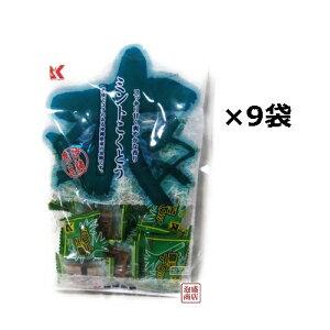 ミント黒糖 130g×9袋セット 琉球黒糖 /黒砂糖 沖縄 JAL