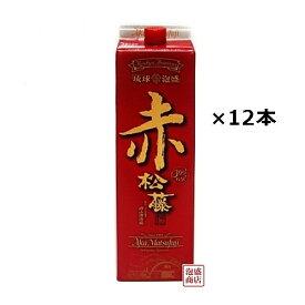 赤の松藤 泡盛 紙パック 30度 1800ml×12本(2ケース) / 沖縄 赤松藤