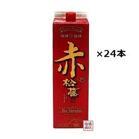 赤の松藤 泡盛 紙パック 30度 1800ml×24本(4ケース) / 沖縄 赤松藤