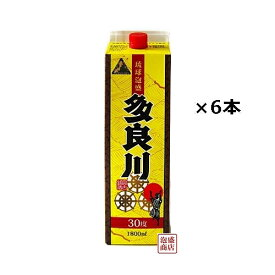 多良川 泡盛 紙パック 30度 1800ml×6本(1ケース) / 沖縄 宮古島
