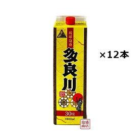 多良川 泡盛 紙パック 30度 1800ml×12本(2ケース) / 沖縄 宮古島