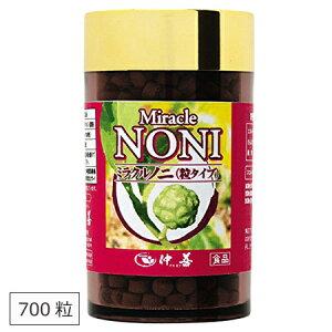 ノニ サプリ サプリメント 健康食品 ミラクルノニ 仲善 700粒
