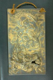 龍小雕像、 龍 3、 風水玩具、 好運、 陶瓷板、 作家、 日本生肖和龍龍