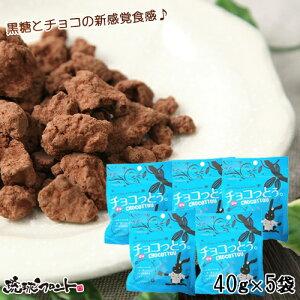 沖縄土産 送料無料 メール便 チョコっとう。 塩味 お得な5袋セット   加工 黒糖菓子 ※代引き不可   【vdy_d89】