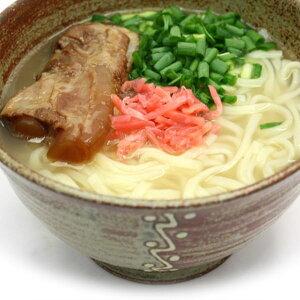 ソーキそば(生) 12食セット(そばだし・ソーキ肉・島唐辛子付)工場直送ににつき「サン食品」以外の商品と同梱不可。