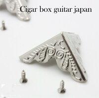 CigarboxguitarBoxcorner(SilverPlating)1